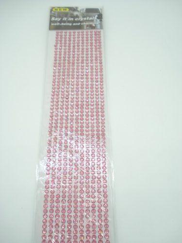 Conjunto Adesivo Destacável Brilho Rosa Pq  - Presente Presente
