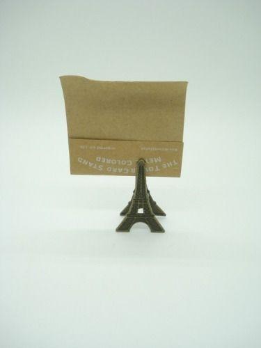 Clipe Prendedor De Papel Torre Eiffel 1 Peça  - Presente Presente