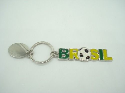 Chaveiro Brasil Tema Copa 2018  - Presente Presente