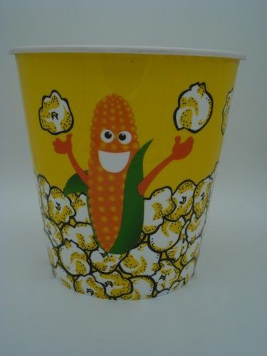 Balde Pipoca Medio 18x19cm Pop Corn Pvc Bowl Jc0026  - Presente Presente