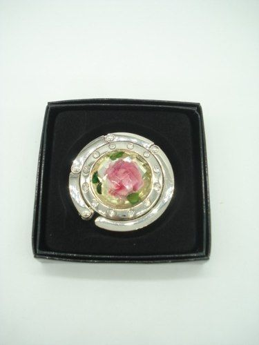 Gancho Para Pendurar Bolsa Dobrável Rosa Pink Jb0088  - Presente Presente