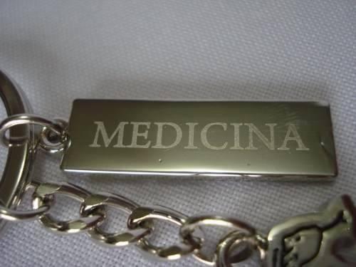 Chaveiro Medicina E Engenharia Profissão Placa De Metal  - Presente Presente