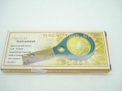 Lupa De Aumento Lente 65mm 2 Lentes Com Bussola  - Presente Presente