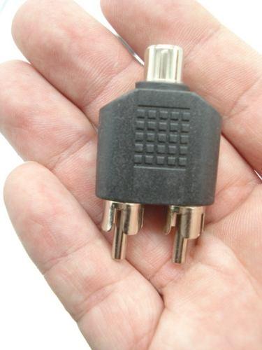 10 Peças Adaptador Duplicador Entrada De Audio  - Presente Presente