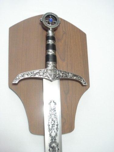 Espada Templária Pedra Azul Robin Hood Medieval Robin Hood  - Presente Presente