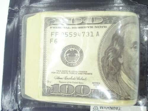 Pegadinha Maço De 100 Dolares  - Presente Presente