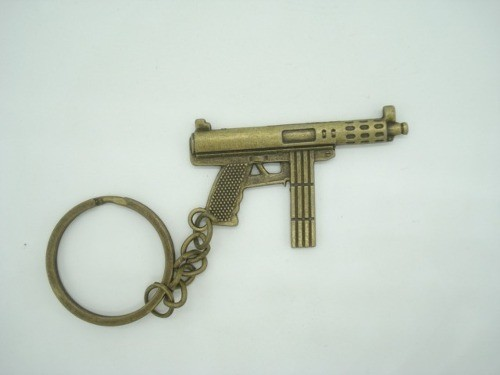 Chaveiro Mini Fuzil Militar Vintage Mod4  - Presente Presente