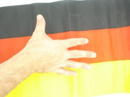 Bandeira Alemanha 40x30cm Festas Decoração Fantasia Jogos  - Presente Presente