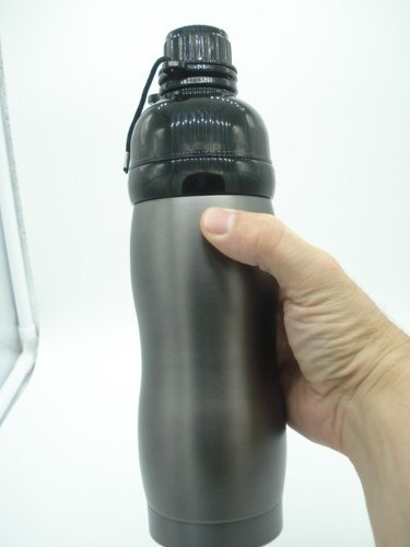Garrafa Squeeze Cantil Térmico Parede Dupla 500ml Tp Preta  - Presente Presente