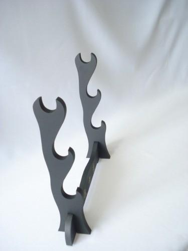 Suporte Para 3 Espadas Em Mdf Katana Coleção De Espada  - Presente Presente