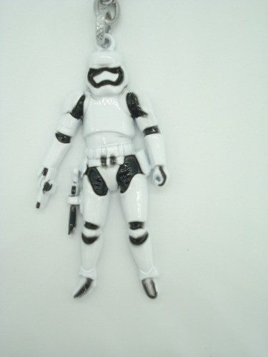 Chaveiro Star Wars Soldado Stormtrooper Metal Batalha  - Presente Presente