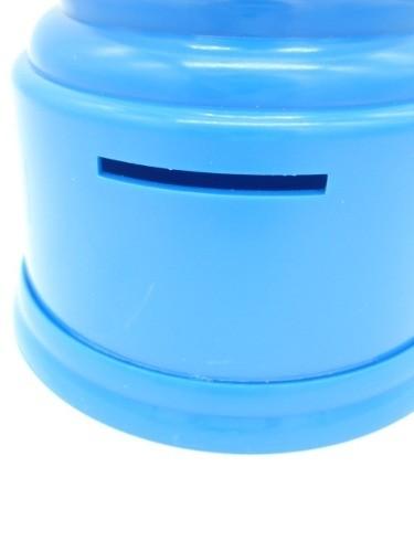 Cofre Baleiro Porta Moedas Decoração Azul  - Presente Presente