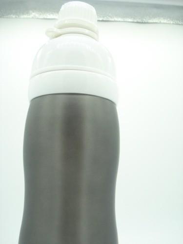 Garrafa Squeeze Cantil Térmico Parede Dupla 500ml Fumê  - Presente Presente