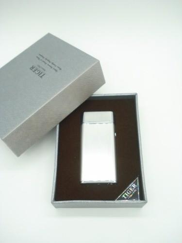 Isqueiro Luxo Arc Plasma Carregamento Usb Coleção Prata  - Presente Presente
