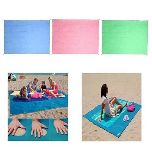 Tapete Mágico Para Praia E Camping - Sand Less Mat 150 X 200  - Presente Presente