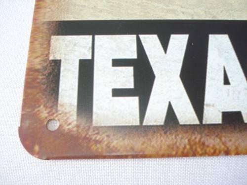 Placa Metal Texaco Motor Oil Oleo Carro Vintage 30x20cm  - Presente Presente