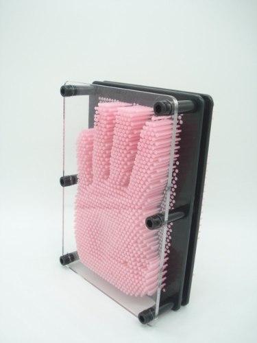 Captador De Imagens Pinart 3d Rosa Escultura Pregos Medio  - Presente Presente