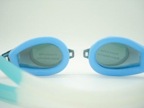 Óculos Natação Azul Adulto Proteção Uv Azul C Verde  - Presente Presente