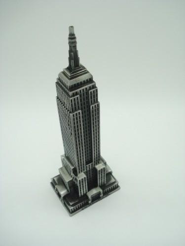 Enfeite Miniatura Empire State Building Ny Metal Luxo  - Presente Presente