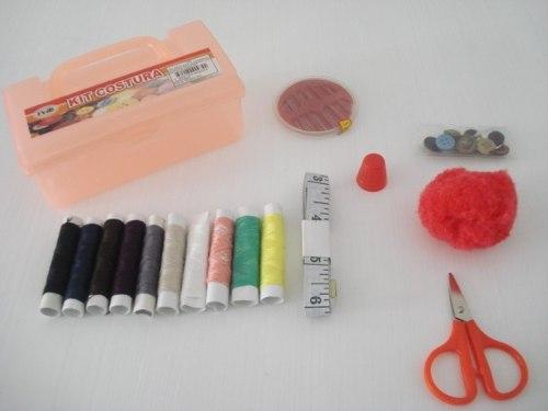 Kit De Costura Estojo Emergencia Multifunção  - Presente Presente
