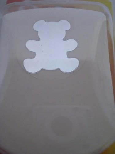 Furador Scrapbook Urso Ursinho Corte 3cm Festa Cratf  - Presente Presente