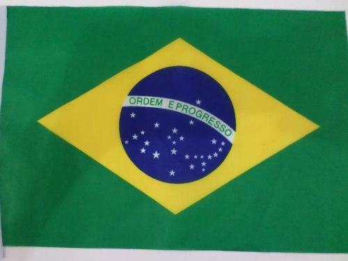 Bandeira Suica E Brasil 1,5mx90cm Festas Decoração  - Presente Presente