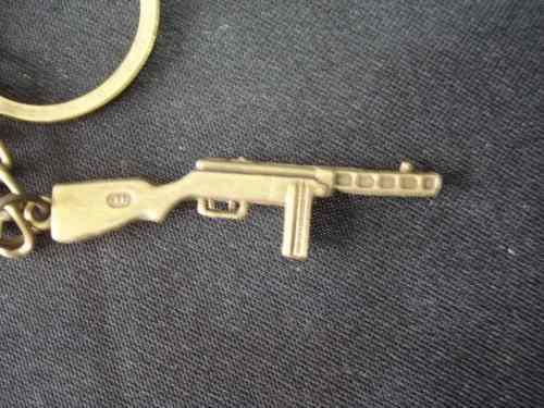 Chaveiro Mini Metralhadora Mod 2 Militar Vintage  - Presente Presente