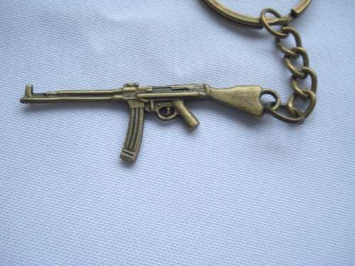 Chaveiro Mini Fuzil Militar Vintage  - Presente Presente