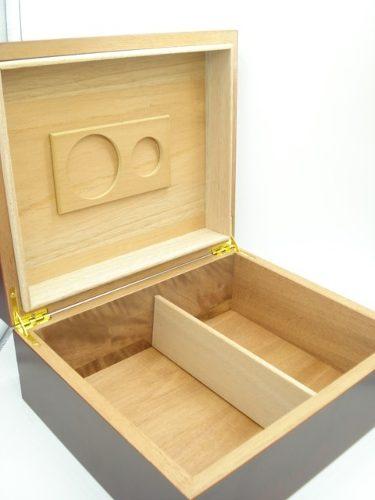 Estojo Caixa Umidificadora 25 Charutos Kit Importada  - Presente Presente