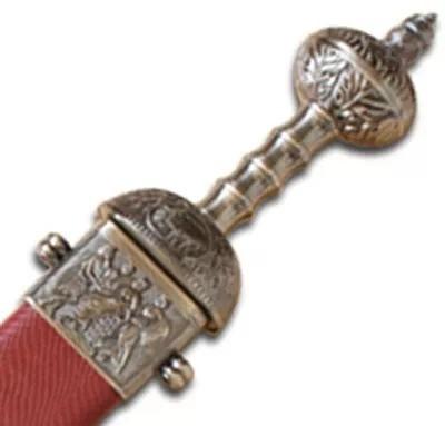 Espada Romana Brass Roman Sword Gladiator Mod Sb137rd  - Presente Presente