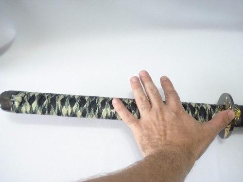 Espada Katana Blacklong 115cm Guerreiro Samurai  - Presente Presente