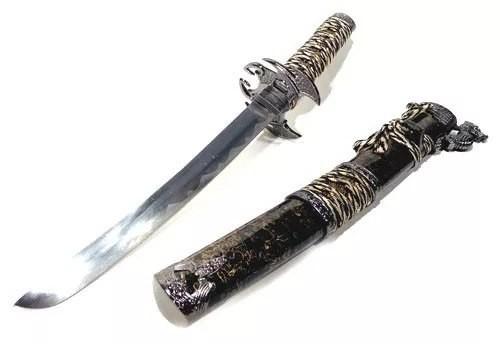 Espada Katana Tanto Dragão Alado Mod 83002  - Presente Presente