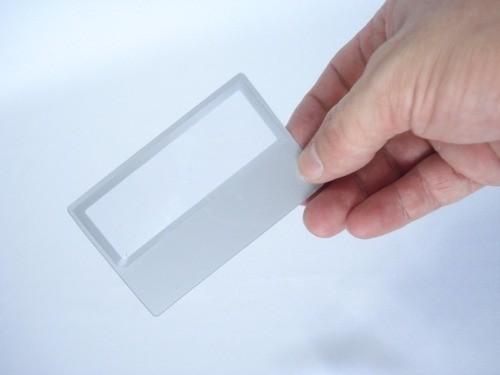 10 Peças Lupa Leitura Aumento Cartão Flexivel Idosos Bula  - Presente Presente