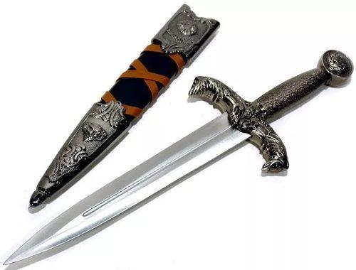 Punhal Medieval Rei Arthur Mod Kcc863  - Presente Presente