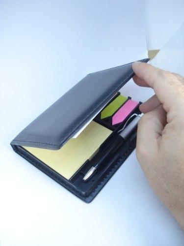 Estojo Organizador Adesivo Couro Lembrete Mensagens Mod 02  - Presente Presente