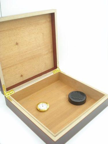 Caixa Umificadora Estojo Para 10 Charutos  - Presente Presente