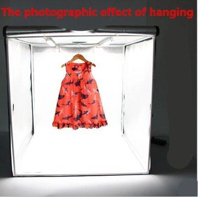 Mini Estúdio Fotográfico 40cm Portátil Iluminação Led Foto  - Presente Presente