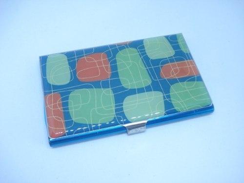 Porta Cartão Credito Prata Com Chaveiro Mini Carteira  - Presente Presente