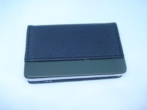 Porta Cartão Credito Couro Ranhurado Mini Carteira  - Presente Presente