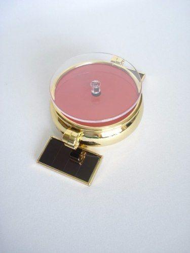 Expositor Display Solar Dourado Giratório Produtos Joia T02  - Presente Presente