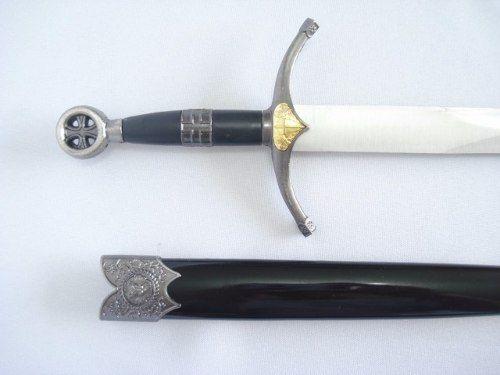 Espada Adaga Robin Hood 36cm Templaria Medieval Km7705  - Presente Presente