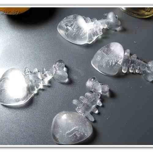 Forma De Gelo Espinha De Peixe Silicone  - PRESENTEPRESENTE