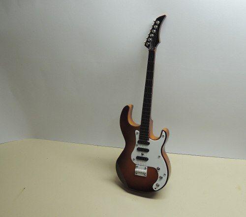 Guitarra Musical Enfeite Decoração Caixa Musical  - Presente Presente