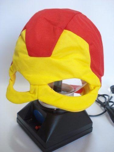 Mascara Homem De Ferro Vingadores Tecido Fantasia Haloween  - Presente Presente