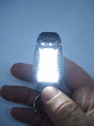Chaveiro Led Preto Lanterna Sos Emergência  - Presente Presente