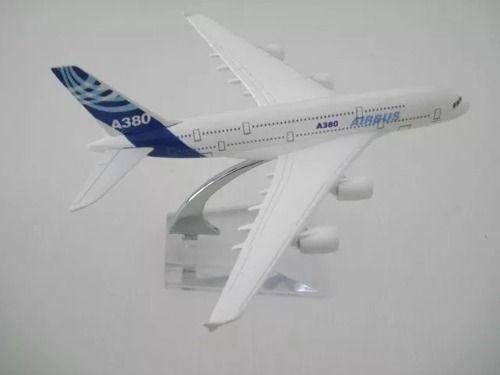 Kit 2 Aviões Airbus Boeing 777 A380 Miniatura  - Presente Presente