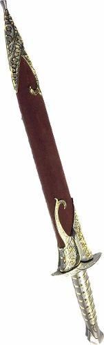 Espada Frodo Com Bainha Em Aço Inox Linda Exclusiva  - Presente Presente