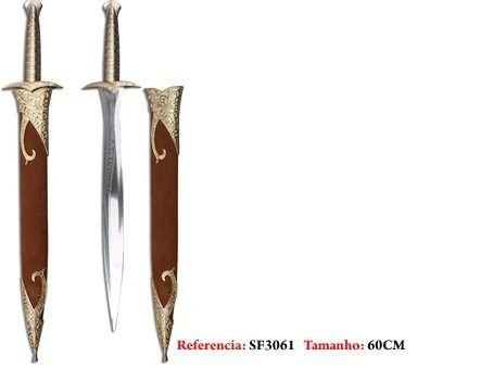 Espada Frodo Sting Serie Limitada Senhor Dos Anéis  - Presente Presente