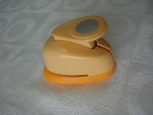 Furador Perfurador Scrapbook Circulo Escalopado Corte 1,5cm  - Presente Presente