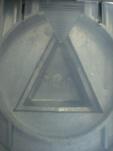 Furador Triângulo Perfurador Scrapbook Corte 3,8cm  - Presente Presente